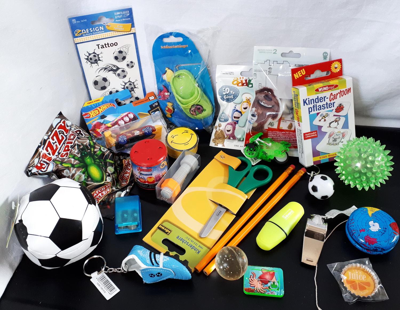 101306 24er Set Spielsachen als Füllung für Schultüte oder Adventskalender
