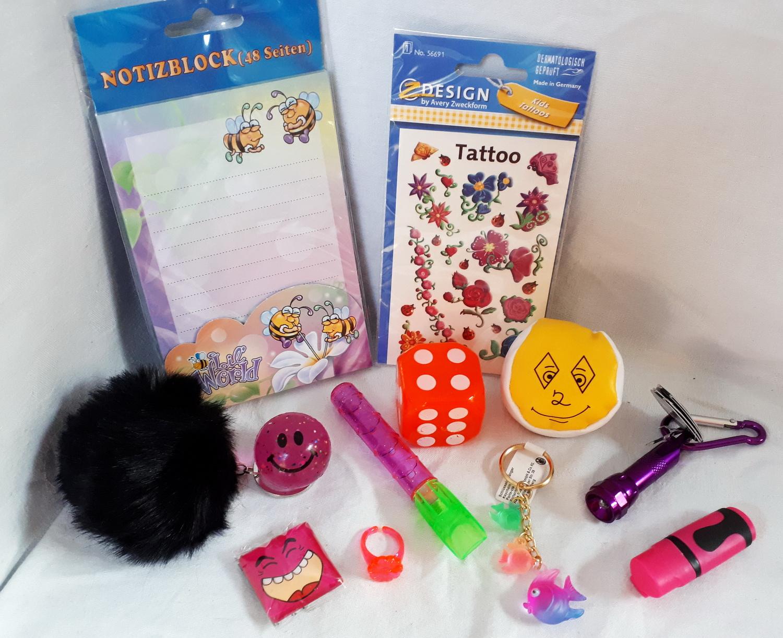 101310 Spielsachen Mitgebsel Set 12tlg.für Mädchen