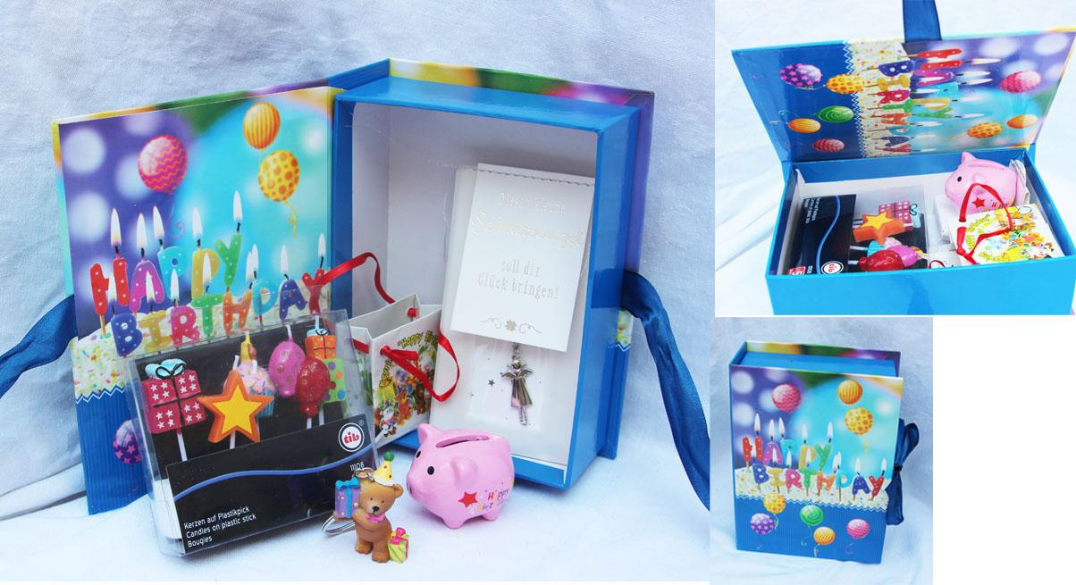 110013 GESCHENK HAPPY BIRTHDAY BLAU