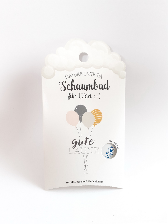 120032 Schaumbad für dich - Schaumbad gute Laune - Ballons 40ml