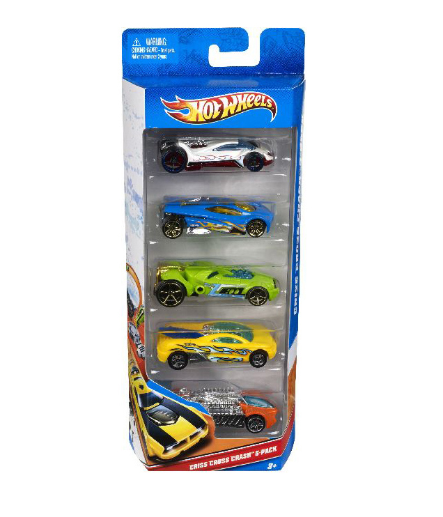 240014 HOT WHEELS 5ER GESCHENK SET 1:64