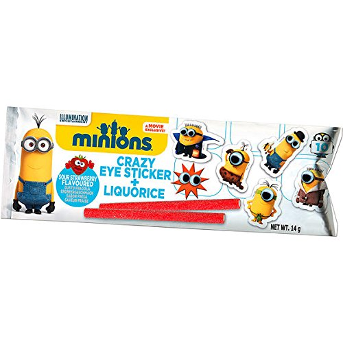 240782 MINIONS MEGA TATOO PLUS CANDY