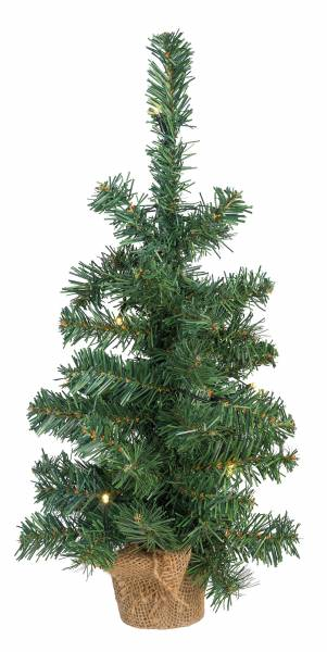 260003 Deko Weihnachts-Baum mit 10 LED 45cm