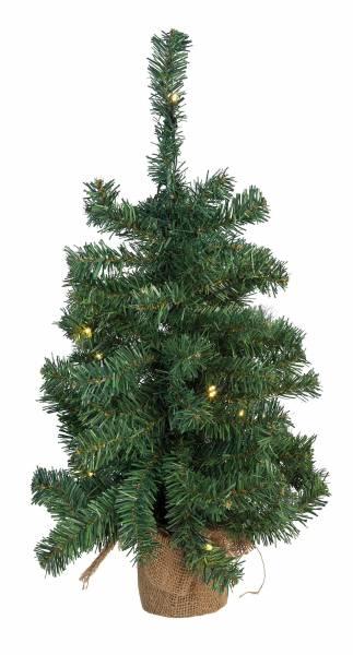 260006 Deko Weihnachts-Baum mit 20 LED 60cm